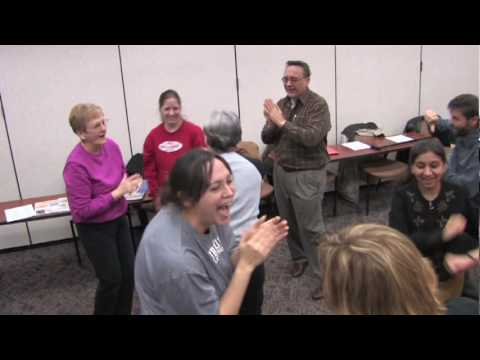 Laughter Yoga at Saint Mary's Hospital Northwest Indiana