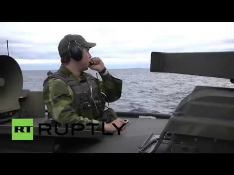 Sweden: Cold War-esque submarine search continues