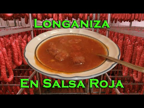 17-Longaniza en salsa roja