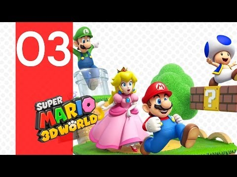 Let's Play : Super Mario 3D World - Episode 3 [FR] [HD]