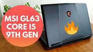 MSI GL63 9RC GAMING LAPTOP UNBOXING AND QUICK REVIEW