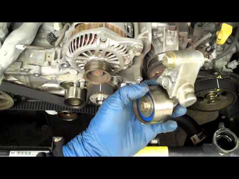 How to replace a SOHC Subaru 2.5l Timing Belt
