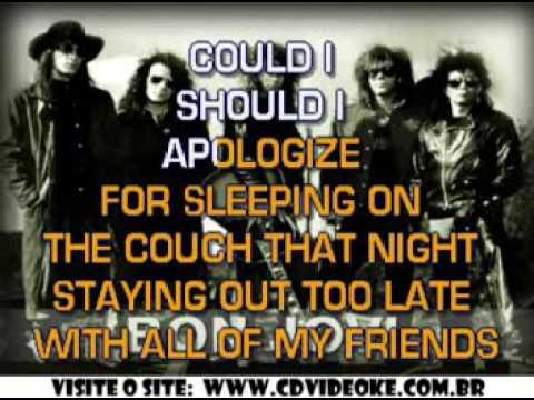 Bon Jovi   Misunderstood