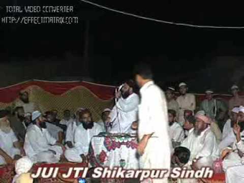 Molana Anas Younus - Siddiq Ki Beti - Mehfil E Hamd O Naat Jui Jti Shikarpur Sindh video