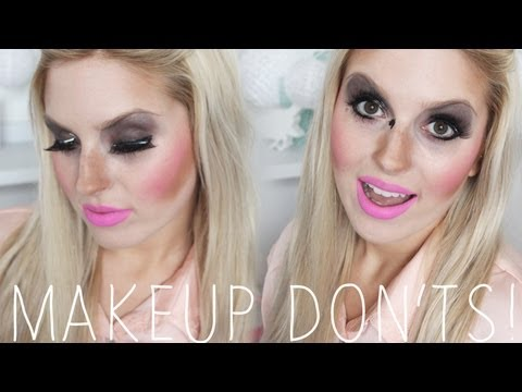 Makeup Don'ts Round 2! ♡ (Look Your Worst Tag)