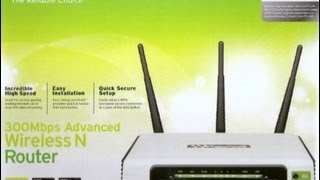 Tp-link TL-WR941ND router unpack and setup