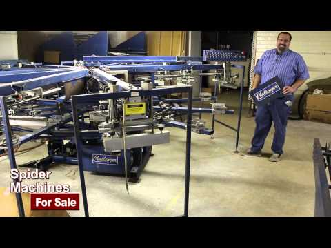Used M&R Challenger in North Carolina 10 Color 12 Station For Sale