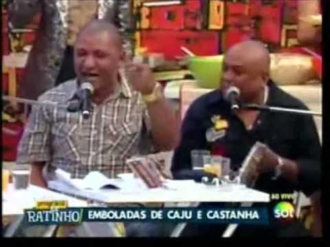 (js) Caju E Castanha No Ratinho Cantam MÚsica Corno Conformado video