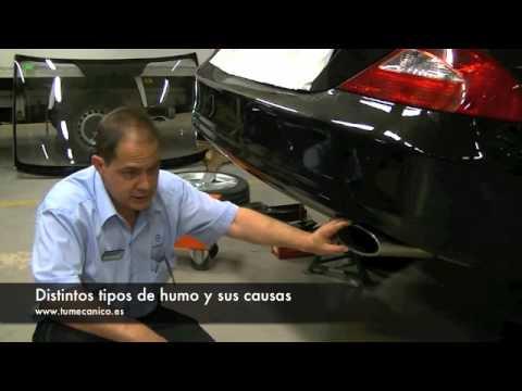 ¿Qué causa los diferentes humos del vehículo?
