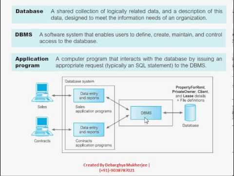 Database Management system ( DBMS ) Tutorial : Introduction