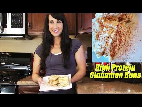 High Protein Healthy Cinnamon Buns