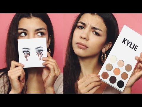 KYLIE KYSHADOW BRONZE PALETTE   REVIEW. SWATCHES. & TUTORIAL