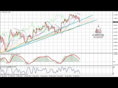 GBP/USD Technical Analysis Forecast for July 25 2014 Forex