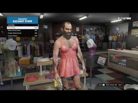 Gta 5   Discount Clothes Shopping With Trevor