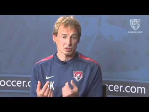 U.S. Soccer Interview with Jurgen Klinsmann: Tactical Formations