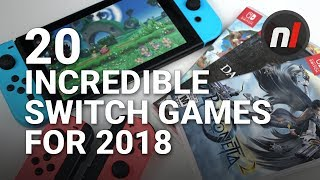 20 Incredible New Nintendo Switch Games Coming in 2018