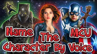 Name The MCU Character By VOICE! - CAPTAIN AMERICA / IRON MAN / BLACK PANTHER / SPIDER-MAN