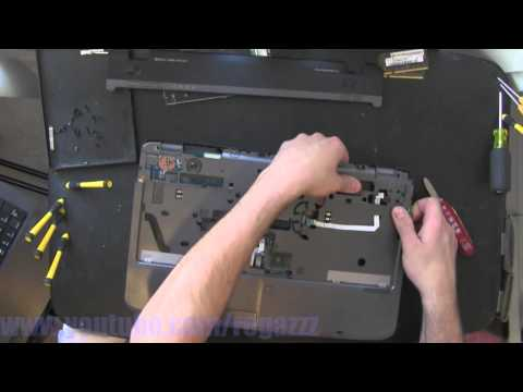 ACER 5542  take apart video. disassemble. howto open (nothing left) disassembly