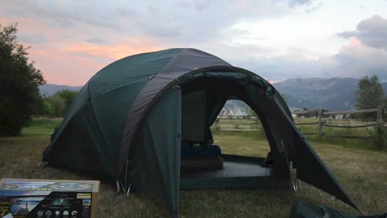 Cabelas Alaskan Guide Tent Youtube