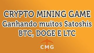 Crypto Mining Game - Mineradora Pagando Muitos Satoshis e Litoshis