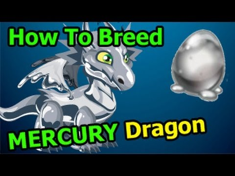 MERCURY DRAGON Dragon City How To Breed with Zombie + Water Dragons
