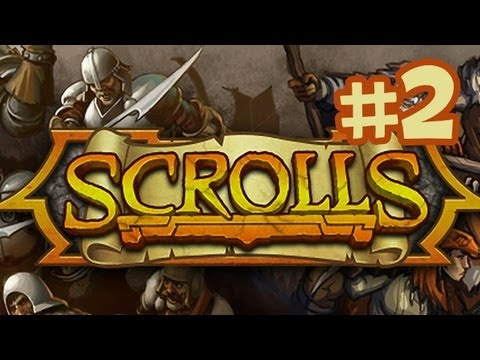 Scrolls Gameplay Walkthrough Part 2 - Trials (By Mojang) Beta