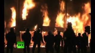 The Qemists - Your Revolution (2012 Europe Riots video)