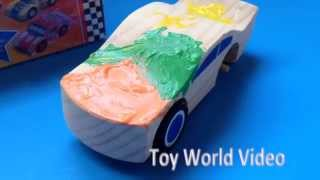 Melissa and Doug Decorate-Your-Own Race Car Paint Toy Wooden Car