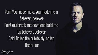 Download Lagu Believer - Imagine Dragons (Lyrics) Gratis STAFABAND