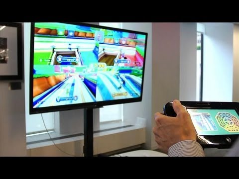 Nintendo Wii U Demo and Reggie Fils-Aime Interview