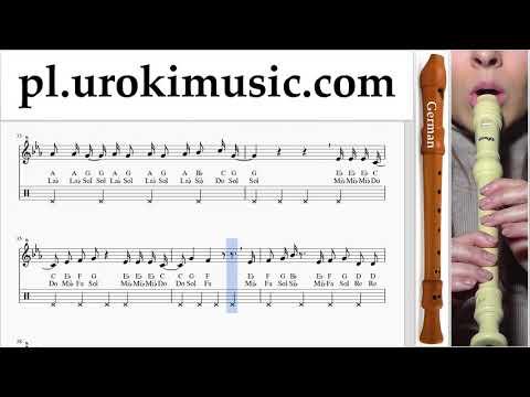 Nauka Gry Na Flecie Prostym (Niemiecki) Camila Cabello - Real Friends Nuty Poradnik Um-i463