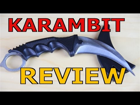 Knife Messer Karambit Review - Messer Show #1 GSPAirsoft