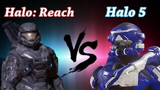 Who did Armor Customization Better? Halo 5 vs. Halo: Reach! (Ft. The Act Bro)