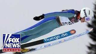 Winter Olympics: Ski Jumping and the athletes' snug suits