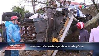 Thanh Hóa: Tai nạn giao thông nghiêm trọng khiến 1 người tử vong tại chỗ