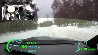 Sno*Drift Rally 2016 SS11 - Miller/Harrell