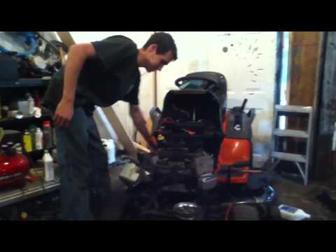 24 hp Briggs and Stratton twin repair