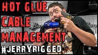 Best PC & Desk Cable Management Solution - #JerryRigged