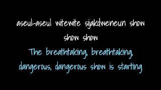 f(x) 에프엑스 Danger lyrics