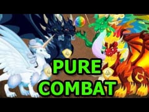 Watch Pure DARK Pure FLAME and Pure Dragon also LEGENDARY Dragon COMBAT VIDEO Attacks Review PART 1