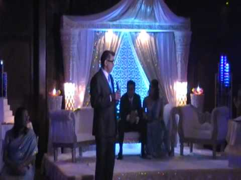 Sandeep & Nimrita's Wedding Reception - Father of Bride Speech