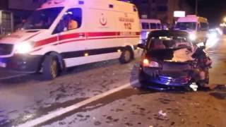 Ordu'da kaza iki yaralı