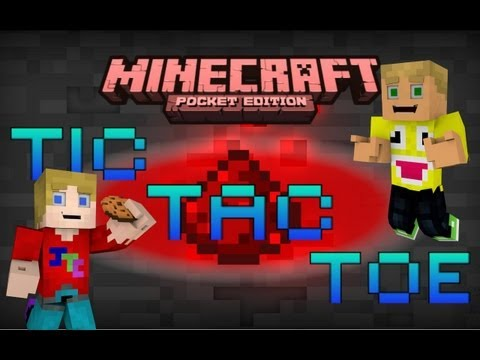 MCPE Redstone Alternative Map Tic Tac Toe