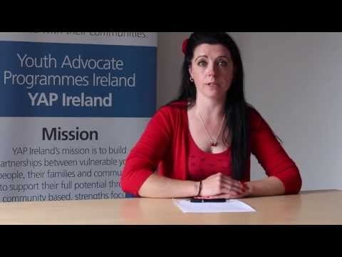Lydia talks about her experiences working as a youth advocate.