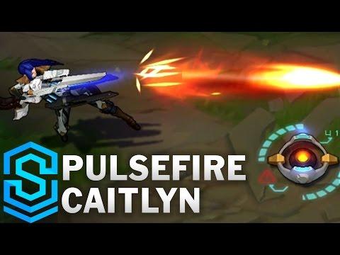 Pulsefire Caitlyn Skin Spotlight - League of Legends