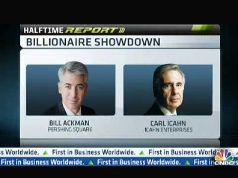 1% Supermen Slapdown Ackman vs Icahn