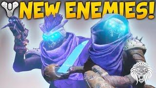 Download Destiny 2: NEW ENEMIES & FACTIONS! Hive Shrieker Boss, SIVA Returns, Flying Knight & Fallen House 3Gp Mp4