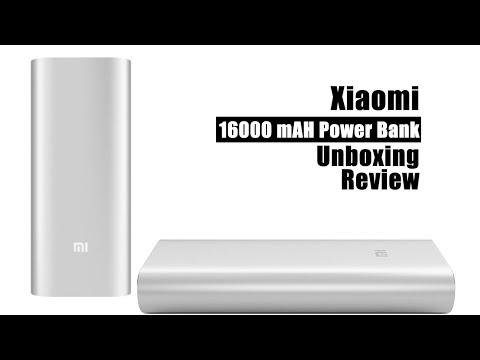 Xiaomi 16000 mAH Power Bank  Unboxing. Review