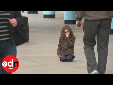 Little Girl Lost: More Than 600 People Ignore Lost Child In Tv Experiment video