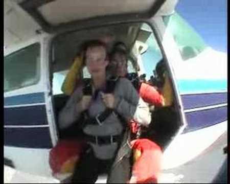 Skydiven in Kaapstad Zuid Afrika Willeke